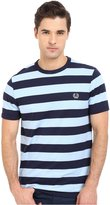 Fred Perry Men's Striped Sports T-Shirt T-Shirt SM