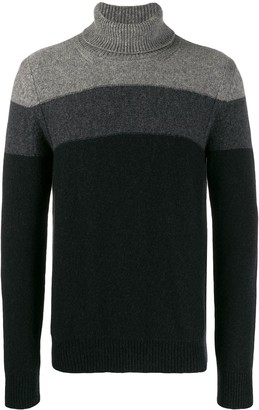 Roberto Collina Ombre Knitted Roll Neck
