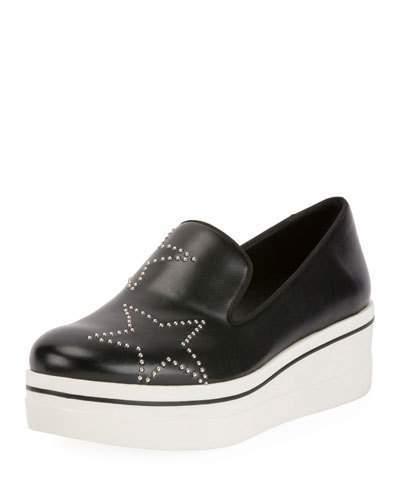 Stella McCartney Binx Stars Platform Skate Sneaker