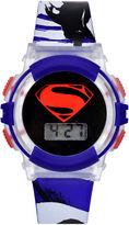 DC COMICS DC Comics Blue Superman Strap Watch