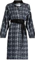 Amanda Wakeley Tempo denim-print shirtdress