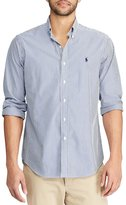 Polo Ralph Lauren Big & Tall Striped Poplin Long-Sleeve Woven Shirt