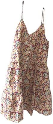 soeur Multicolour Cotton Dress for Women