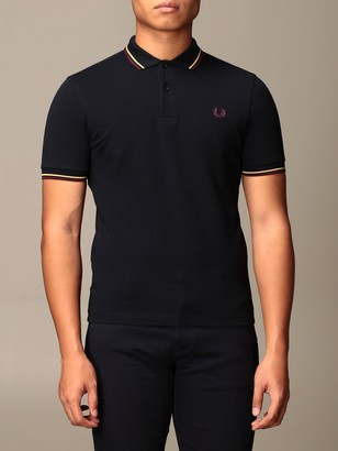Fred Perry Short-sleeved Polo Shirt With Logo