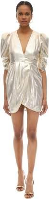 Alice McCall Ruffled Lurex Mini Dress