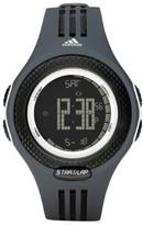 adidas ADP3077 Glaxay Black Rubber Bracelet with 48mm Digital Watch New In Box