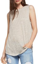 BCBGeneration Heathered Knit Tunic Tank