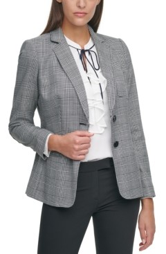 Tommy Hilfiger Plaid Blazer