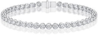 Memoire 18K 4.00 Ct. Tw. Diamond Illumination Line Bracelet