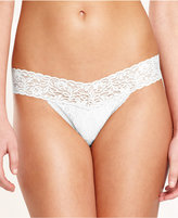 Maidenform One-Size Lace Thong 40118