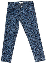 Etoile Isabel Marant Floral Embroidered Crop Jeans