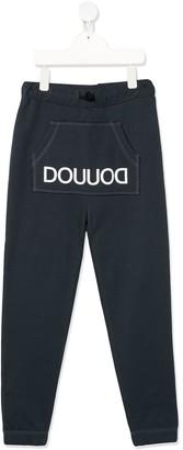 Douuod Kids logo track pants