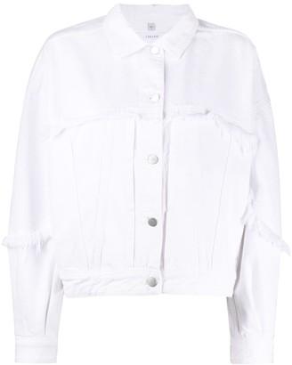 J Brand Frayed Edge Jacket
