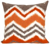 Liora Manné Zigzag Ikat Decorative Indoor/Outdoor Pillow