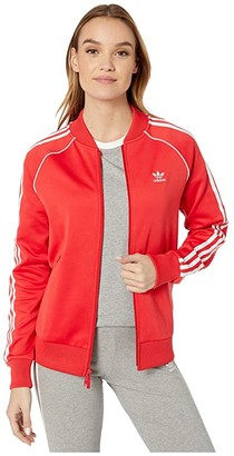 adidas Superstar Track Jacket (Black) Women's Coat