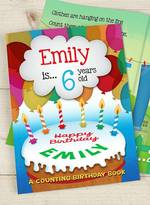 Letteroom Personalised Counting Birthday Book