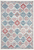 Safavieh Brentwood Collection BNT815 Rug, Cream/Blue, 4'x6'