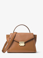 Michael Kors Whitney Medium Leather Satchel