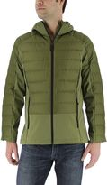 adidas Men's Hybrid Down Hooded Puffer Jacket