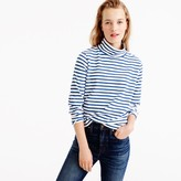 J.Crew Sailor-stripe funnelneck T-shirt