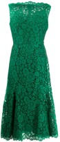 Dolce & Gabbana floral lace sleeveless dress