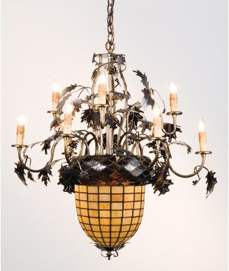 11-Light Candle Style Tiered Chandelier Meyda Tiffany