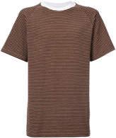 Maison Margiela striped oversized T-shirt