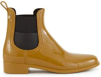 Lemon Jelly Rusted ankle boots