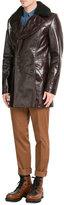 Maison Margiela Leather Coat