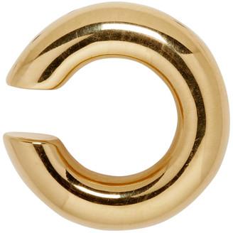 Saskia Diez Gold Bold Single Ear Cuff