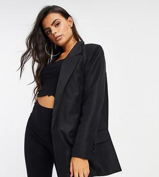 ASOS DESIGN Petite perfect blazer in black