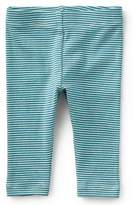 Tea Collection Stripe Capri Leggings (Baby Girls)