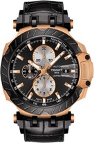 Tissot T-Race MotoGP Leather Strap Automatic Watch, 49mm