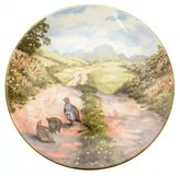 Royal Doulton c1984 Along the Lane At Peace With Nature Elizabeth Gray Limited Edition of just 10,000 plates TN204