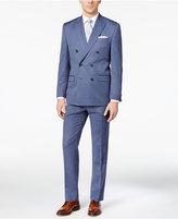 Lauren Ralph Lauren Men's Classic-Fit Blue Pinstripe Double-Breasted Ultraflex Suit