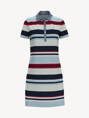 Tommy Hilfiger Essential Stripe Polo Dress