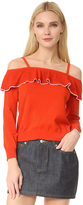Moschino Off Shoulder Sweater