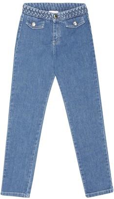 Chloé Kids Straight jeans