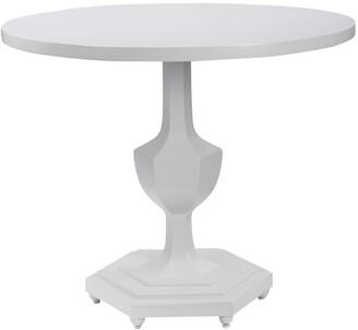 Uttermost Kabarda White Foyer Table