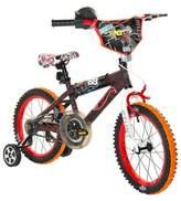 "Hot Wheels Boy's Bike - Black/Red (16"")"