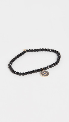 Sydney Evan Small Eye Disc Bracelet