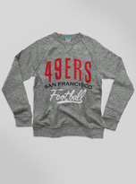 Junk Food Clothing Kids Nfl San Francisco 49ers Sweatshirt-heather Grey-l