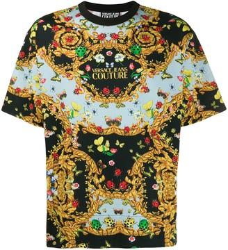 Versace Ladybug Baroque print T-shirt