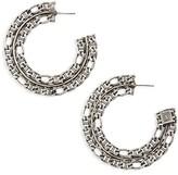 Dannijo Women's Hawk Hoop Earrings