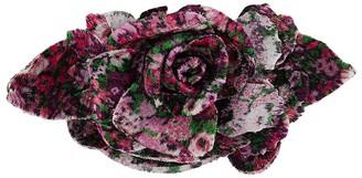 Philosophy di Lorenzo Serafini Floral Faux-Fur Brooch