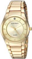 Ellen Tracy Women's Quartz Metal and Alloy Casual Watch, Color:Gold-Toned (Model: ET5293GD)