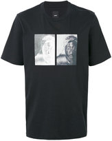 Oamc Tupac print T-shirt - men - Cotton - S