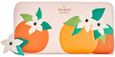 Kate Spade Spice Things Up Orange Blossom Lacey Wallet
