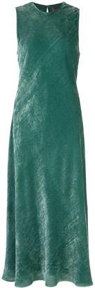 Sies Marjan Velvet Corduroy Midi Dress