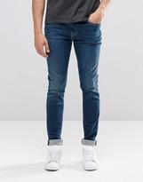 Pepe Jeans Pepe Nickel Skinny Jeans I47 Dark Wash